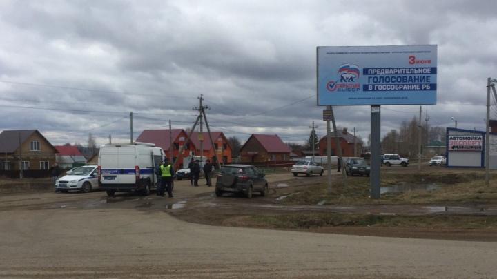 В башкирском поселке к магазину подбросили гранату