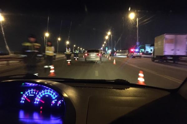 Автомобилисты пишут о проверках водителей и советуют другим водителям выбирать новый маршрут