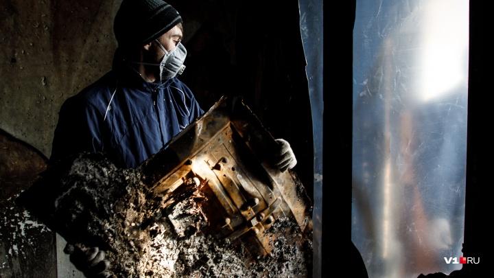 Причины устанавливаются: в Волгограде загорелся частный дом