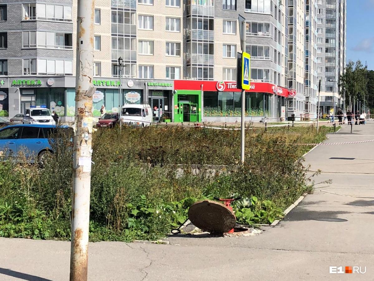 В районе УНЦ во время строительных работ нашли миномётную мину