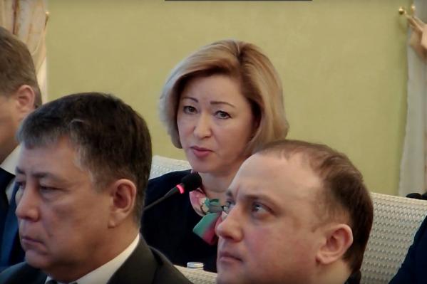 Ленара Хакимовна проявила инициативу на совещании регионального правительства