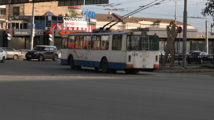 В Екатеринбурге возобновит работу троллейбусный маршрут, который был закрыт из-за ремонта дороги