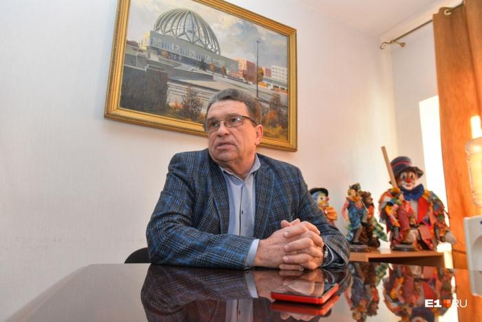 Анатолий Марчевский руководит екатеринбургским цирком уже 24 года