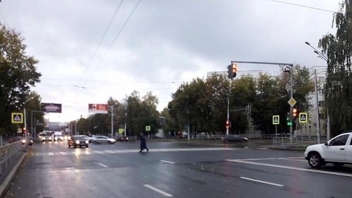 В Уфе водитель иномарки сбил 14-летнего мальчика