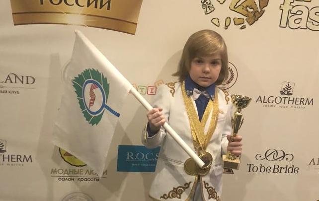 Чтец-первоклассник из Кольцово получил титул «Маленького мистера России»