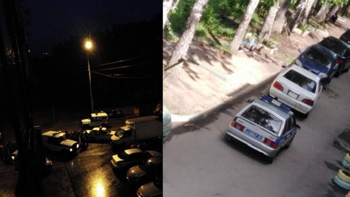 «Перебудили полрайона»: полицейские устроили ночную погоню на «Золотой Ниве»