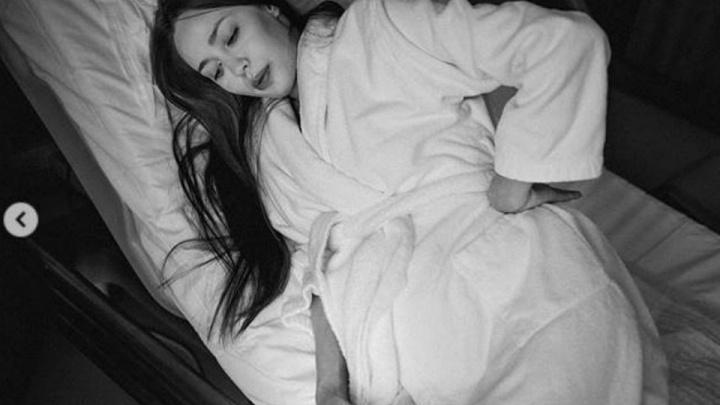 Анастасия Костенко опубликовала в Сети фото родов