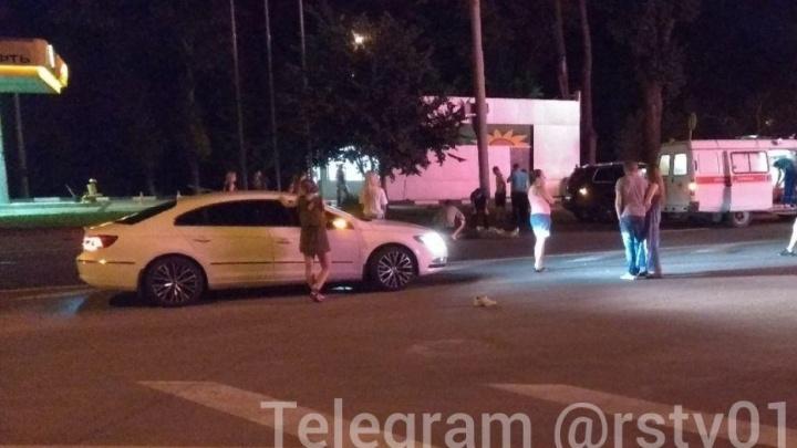 На проспекте Шолохова мужчина погиб под колесами автомобиля