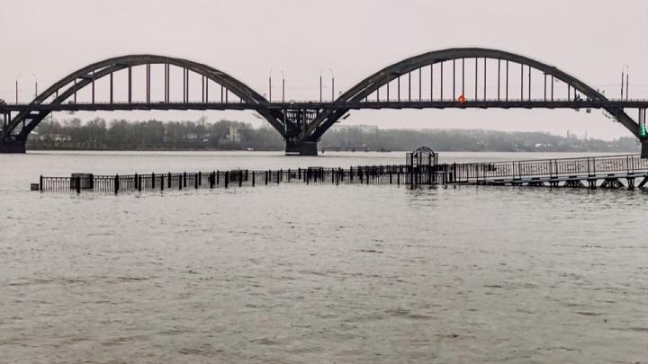 40 миллионов ушли под воду: в Рыбинске утонул новый причал