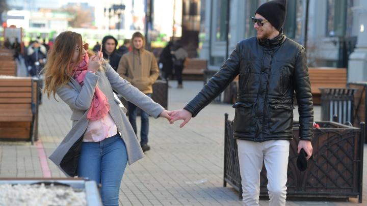 Готовьте пальто: в начале недели в Екатеринбург придет оттепель