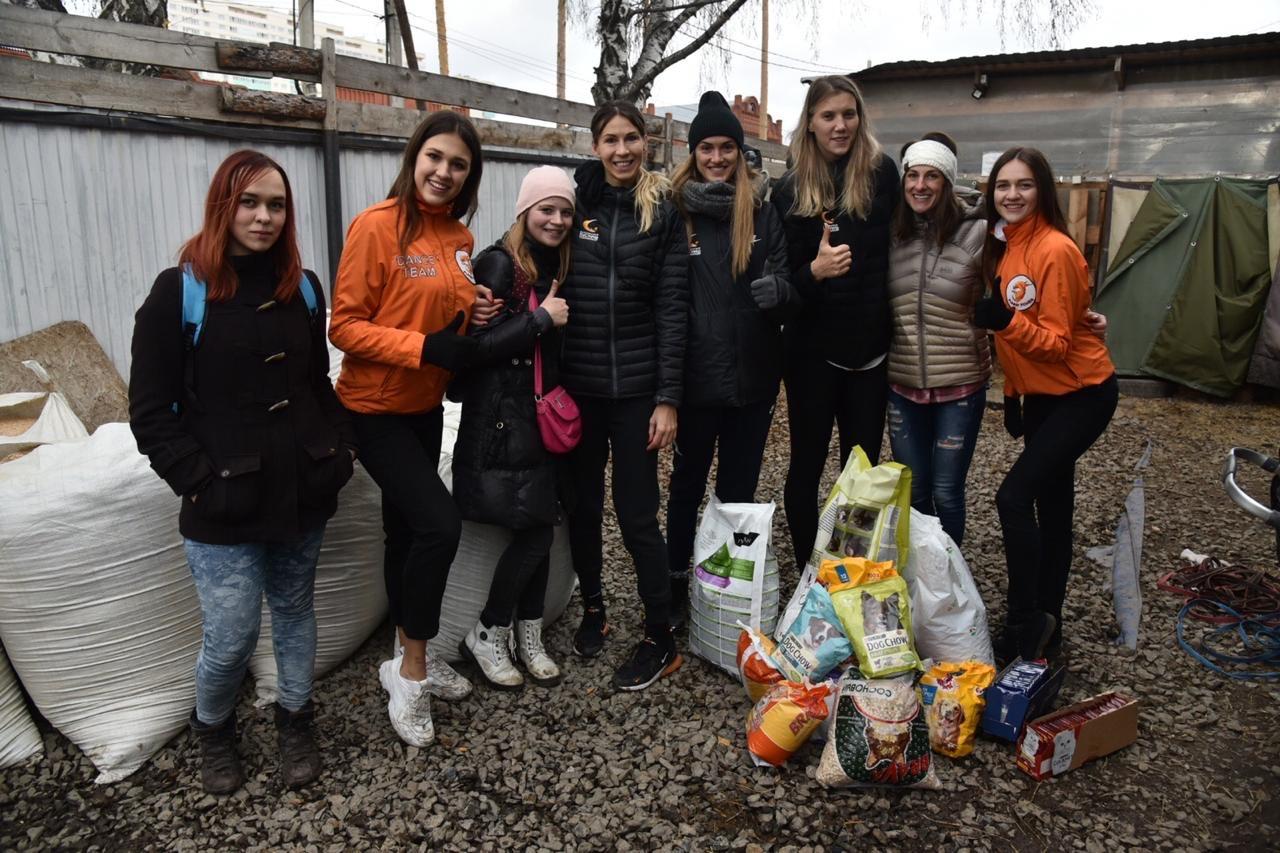На домашние игры УГМК в ДИВС можно приносить корм для животных