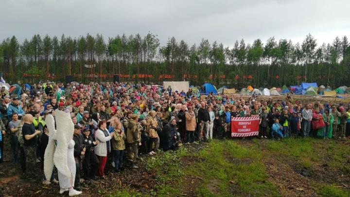 Битва за лес: как жители Архангельской области год воюют против гигантского мусорного полигона