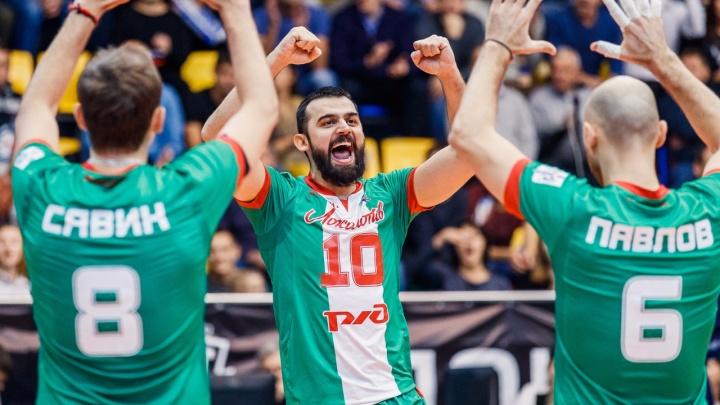 Волейбол: «Локомотив» одержал уверенную победу над «АСХ Воллей»