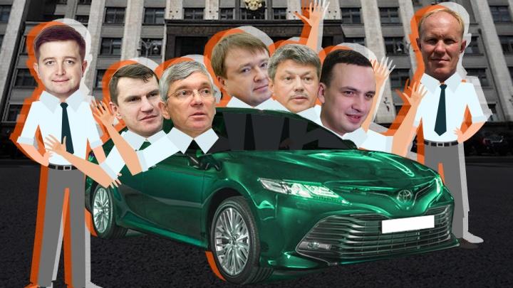ВИП-гараж: за четыре года на такси для свердловских депутатов Госдумы потратили 39 млн рублей