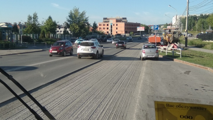 Ремонт улицы Солнечной завершат до конца недели