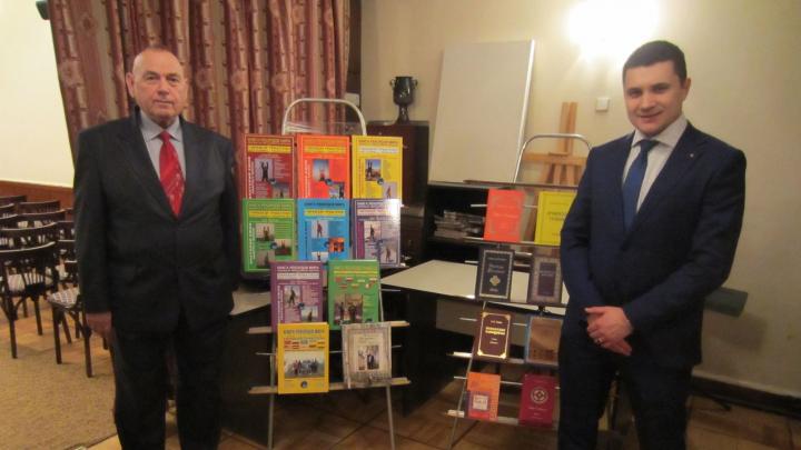 Творческий вечер президента МИУ Анатолия Ежова прошел в Центральном доме литераторов