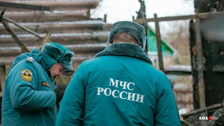 За сутки на Дону при пожарах погибли шестеро человек