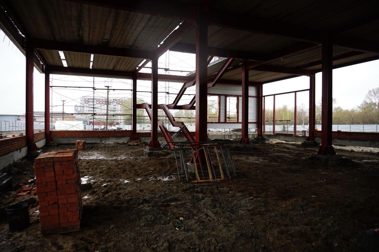 В здании нового автовокзала будет два этажа