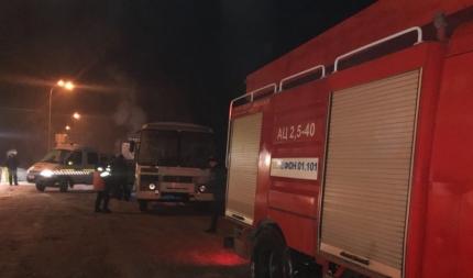 Натрассе Кемерово— Ленинск-Кузнецкий едва незамерзли 16 человек