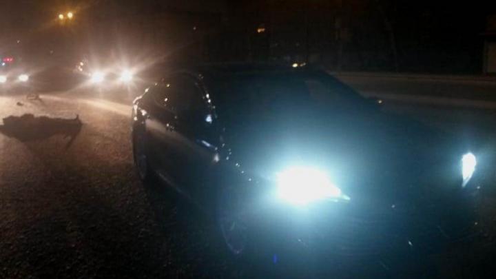 В Кировском районе мужчина погиб под колёсами иномарки