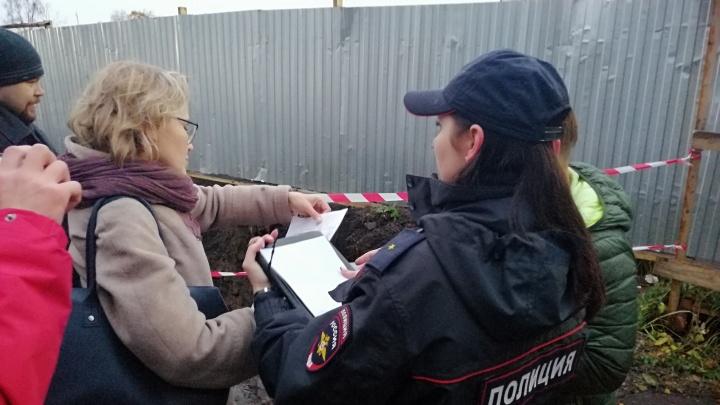 К ЖК River Park нагрянула полиция и инспекция по охране культурного наследия. Нарушен ли закон?