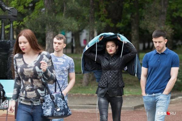 Приготовьте зонты и дождевики, в ближайшие дни пройдут ливни