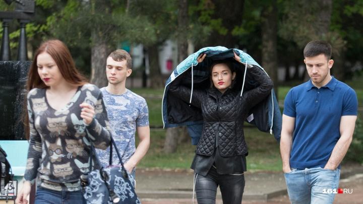 В Ростовской области до 26 июля объявлено штормовое предупреждение