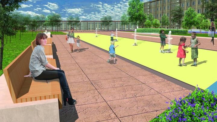 В СФУ придумали, как переделать пешеходную улицу в Зеленой роще