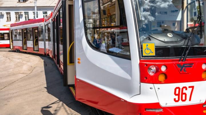В самарских трамваях S5 организуют льготный проезд и оплату транспортными картами