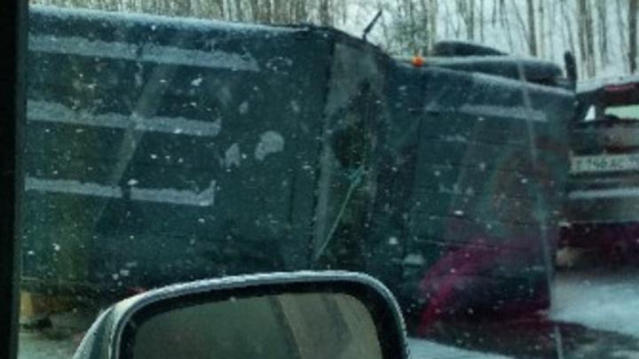 В ДТП на трассе Пермь — Березники пострадали два человека