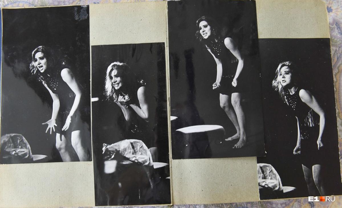 Фотографии из театральной молодости Зиминой