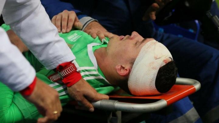 Бывший вратарь «Уфы» получил черепно-мозговую травму в товарищеском матче