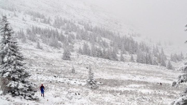 В горных районах Башкирии выпал первый снег