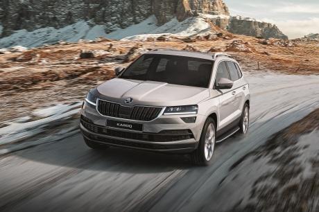 ŠKODA объявила о старте продаж долгожданной модели ŠKODA KAROQ