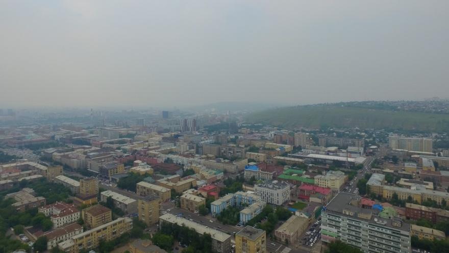 Красноярский край попал в десятку регионов с самым грязным воздухом по итогам весны