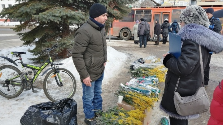 И Рыбинск туда же: в Ярославской области перед 8 Марта запретили продавать цветы на улице