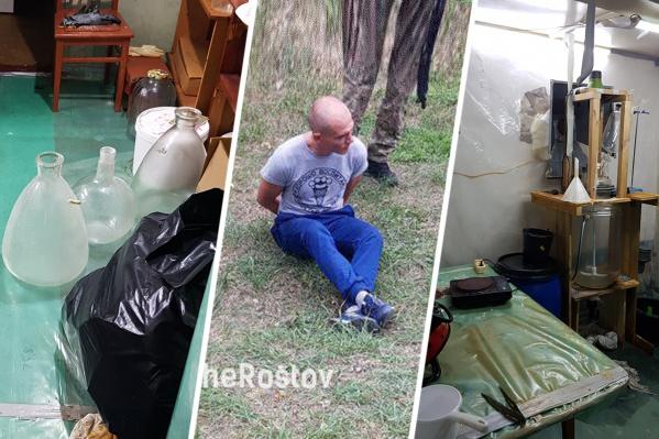 Одного из подозреваемых задержали по дороге в Ростов