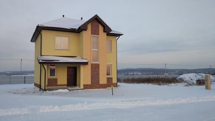 Дом с 50-летней гарантией: в посёлке под Екатеринбургом распродадут последние дома и участки