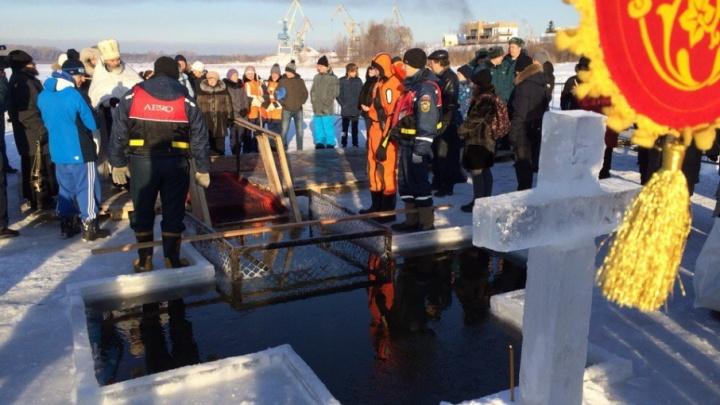Спасатели рассказали, когда в Уфе закончатся крещенские купания
