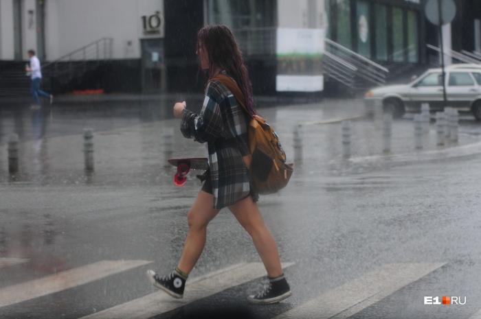 Не забывайте зонты: небольшие дожди прогнозируют на всю неделю