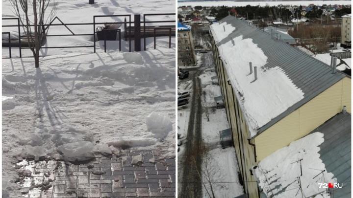 Осудили председателя ТСЖ, по вине которого в Боровском глыба льда убила 83-летнего пенсионера