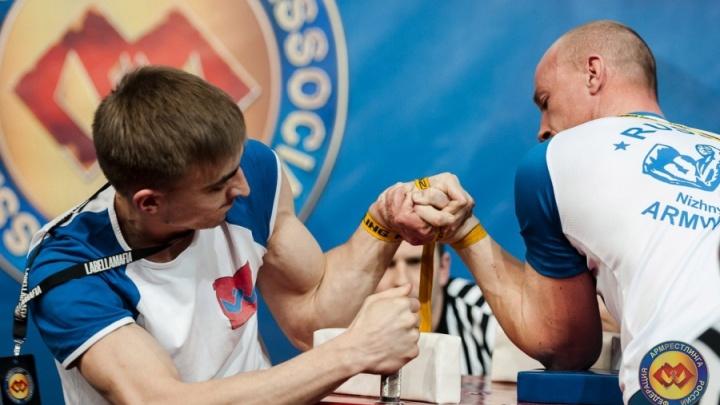 Армрестлер из Башкирии взял награду на чемпионате мира