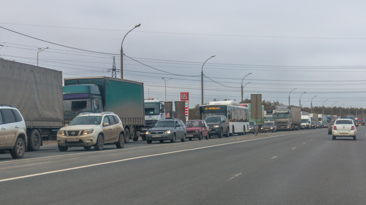 В Самарской области временно ограничили движение на трассе М-5