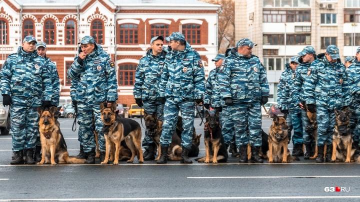 В Самаре на площади Куйбышева пройдет гарнизонный строевой смотр полиции
