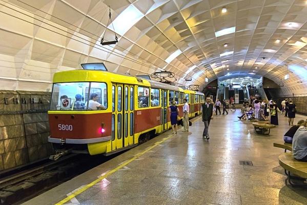 Скоростной трамвай в Волгограде с подземными участками