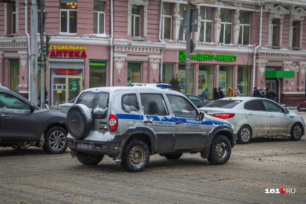 Задержанных грабителей передали полицейским
