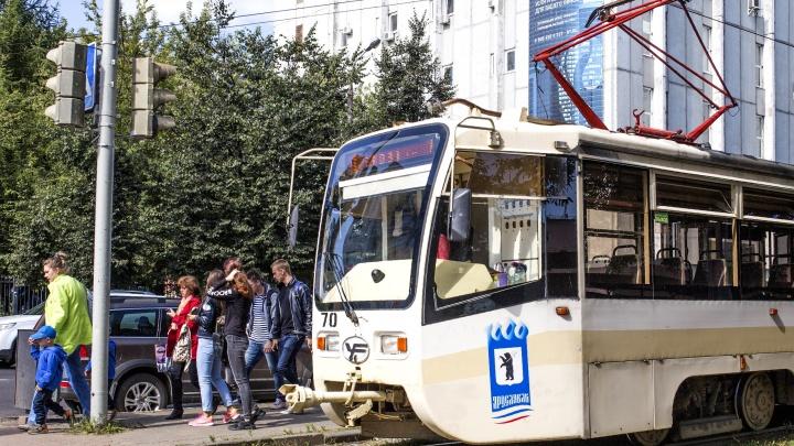 Не пропустила: в Ярославле женщина на иномарке сбила девочку, которая бежала к остановке