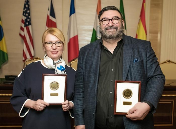 Владимир и Анжелика Бурковские