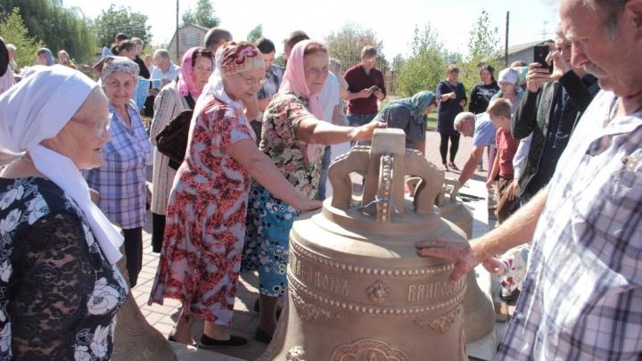 В Садах Придонья скоро услышат звон колоколов