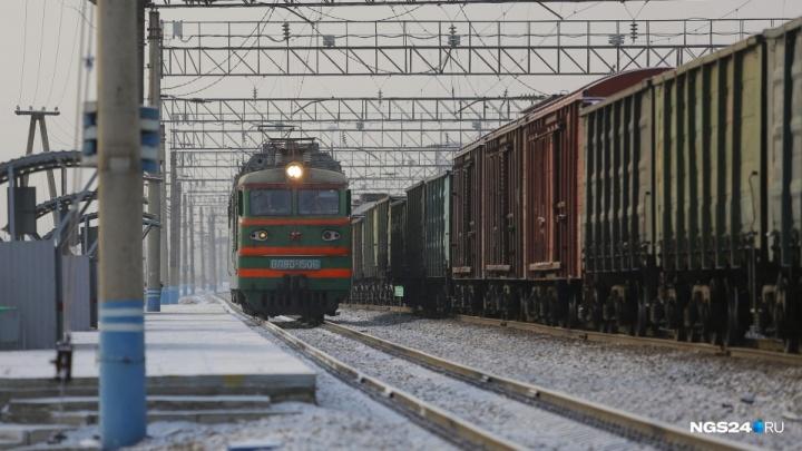 Пропавший мужчина в Красноярске оказался сбит поездом